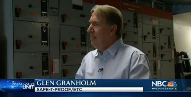 Glen Granholm on NBC Bay Area